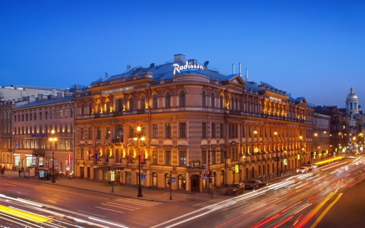 Hotel Radisson Royal Fassade St. Petersburg