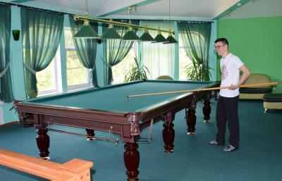 Hotel Camp Antarius - Billiardtisch, Kamtschatka 2020
