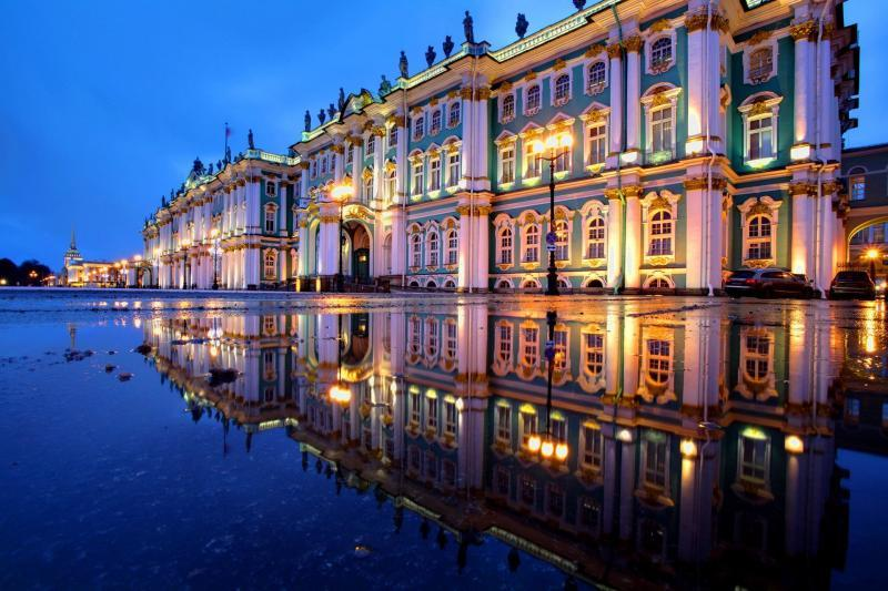 Eremitage/Winterpalast in St. Petersburg