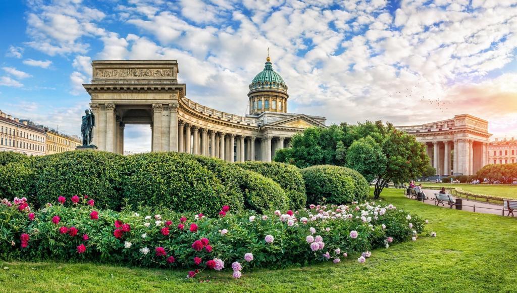 Sehenswürdigkeiten in St. Petersburg: Kasaner Kathedrale