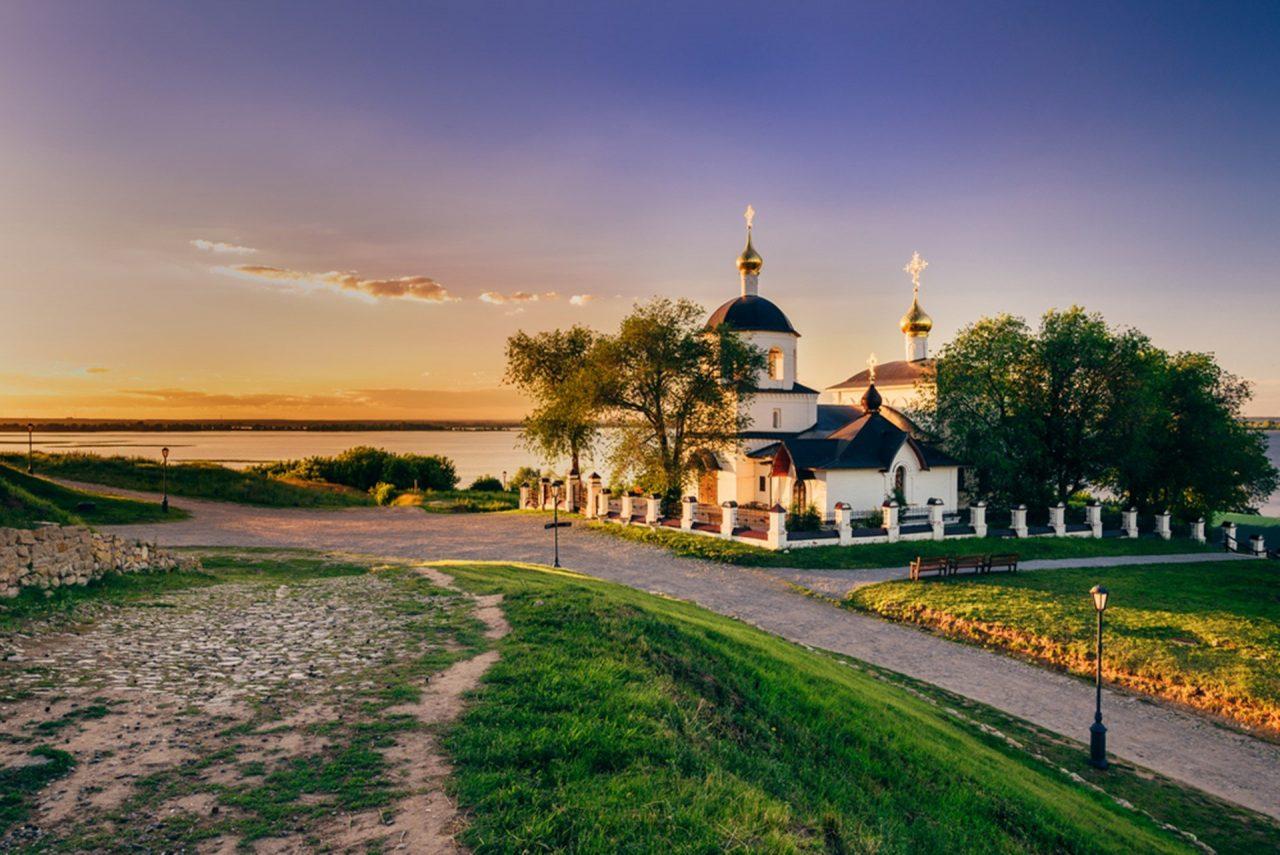 Inselstadt Swijaschsk Kasan