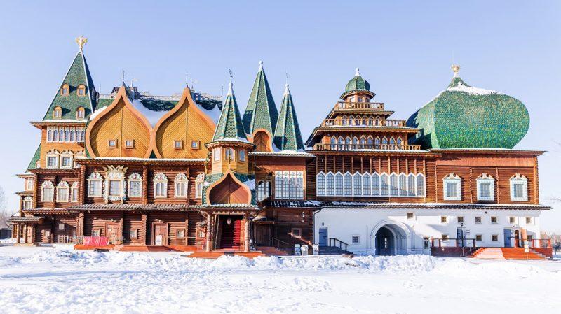 Freilichtmuseum Kolomenskoje Moskau