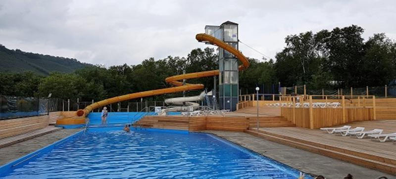 Resort Lagune Pool Kamtschatka