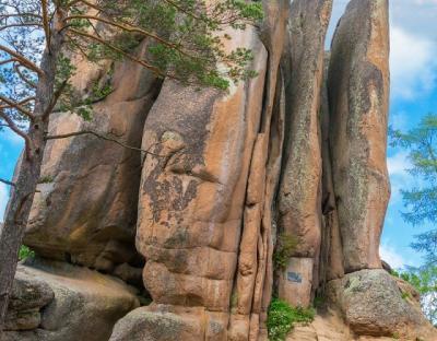 Naturschutzgebiet Stolbi Russland-Reisen