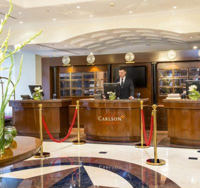 Hotel Radisson Royal Lobby St. Petersburg