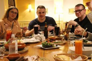 Hotel Katerina City Moskau Restaurant mit AL.EX Team