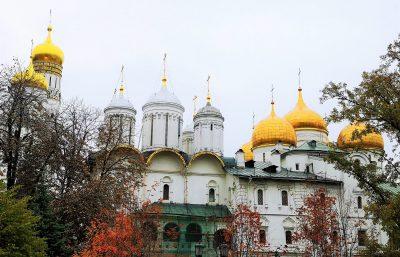 Domplatz in Moskau, Kremlkathedralen