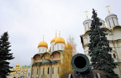 Zarenkanone im Moskauer Kreml