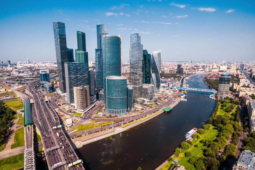 Föderationsturm in Moskau
