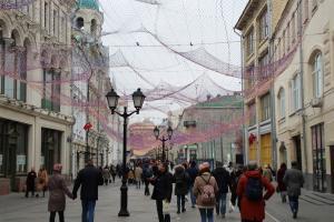 Nikolskaya Straße in Moskau