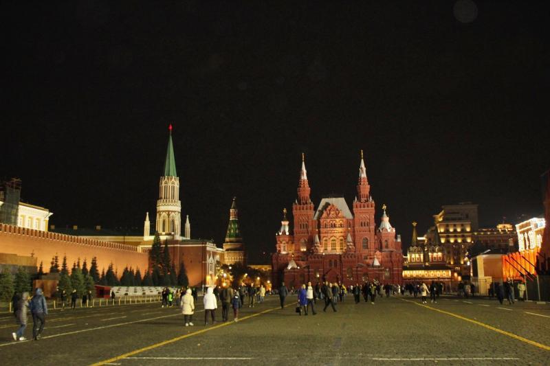 Historisches Museum am Roten Platz in Moskau