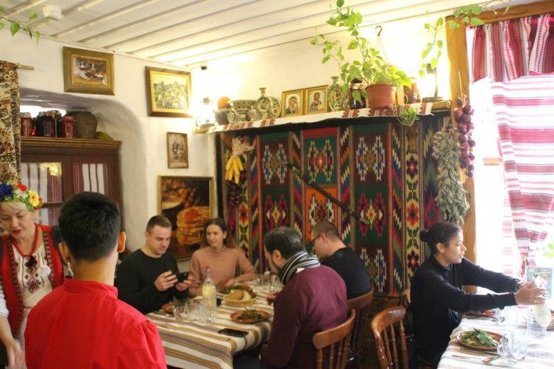 Restaurant Taras Bulba in Moskau