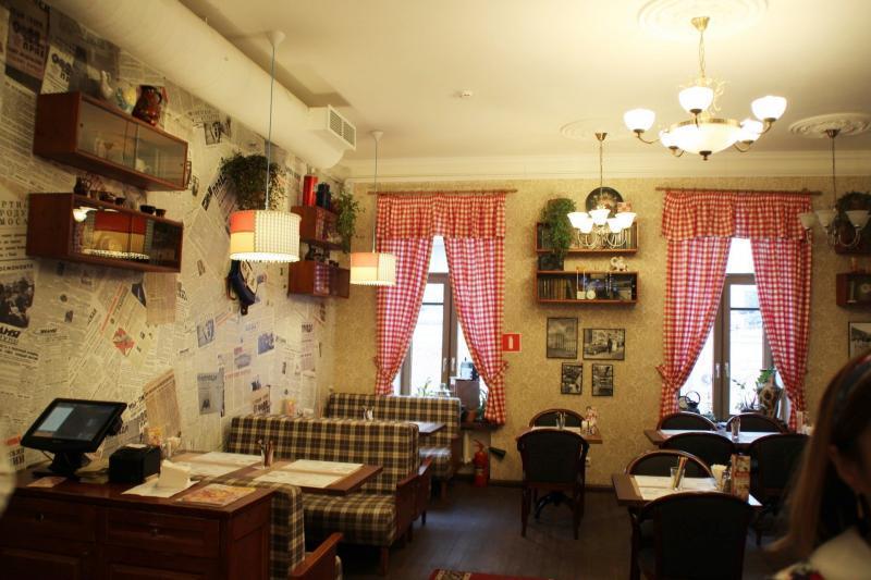 Restaurant Varenychna Nr. 1, Moskau
