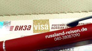 Visum für Russland-Reisen