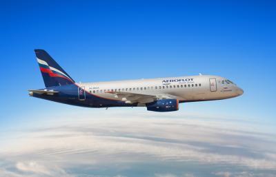 Airbus Aeroflot Flugzeug