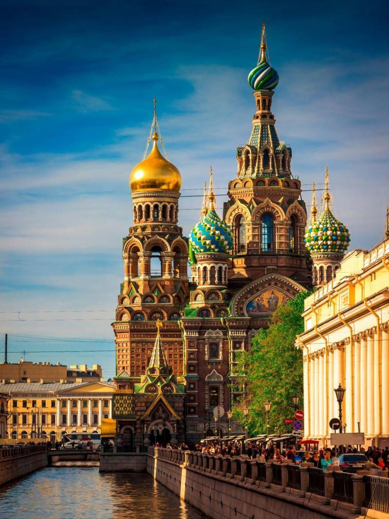 Erlöserkirche Sankt Petersburg Urlaub