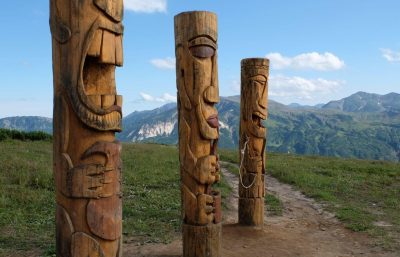 Viliuschinskij Pass, Kamtschatka, Russland-Reisen