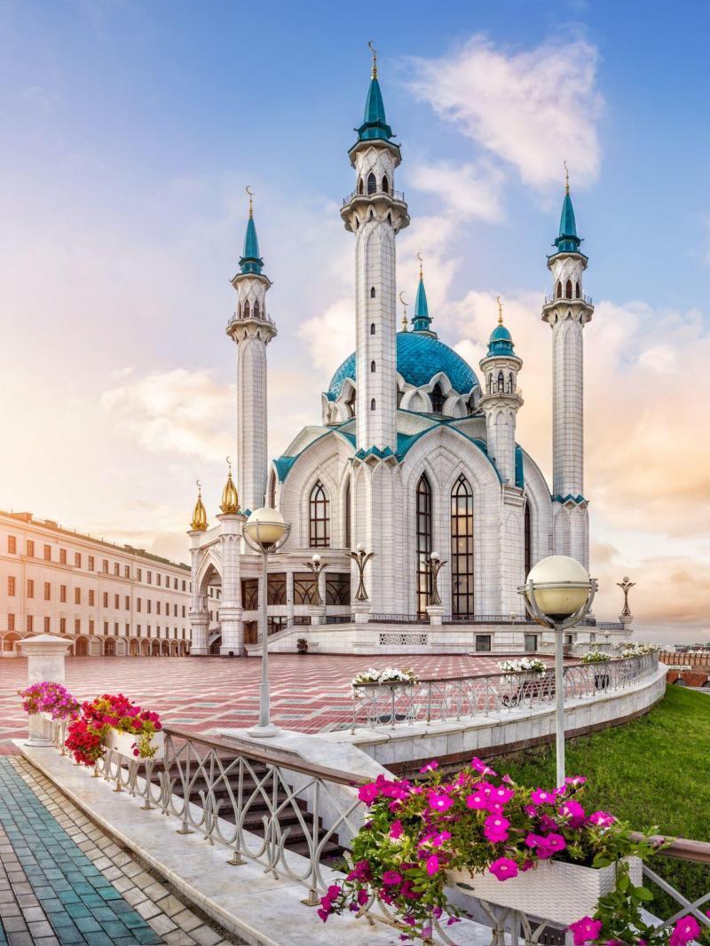 Kasan-Kul Sharif Kasan Russlandreise