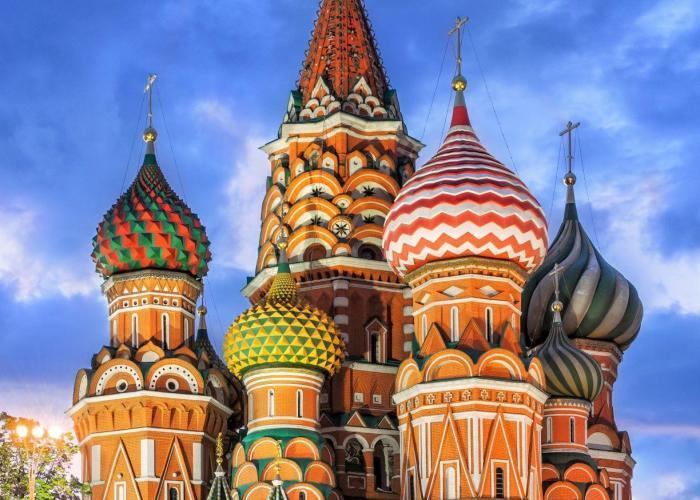 Städtereise Moskau, Moskaureise, Basiliuskathedrale