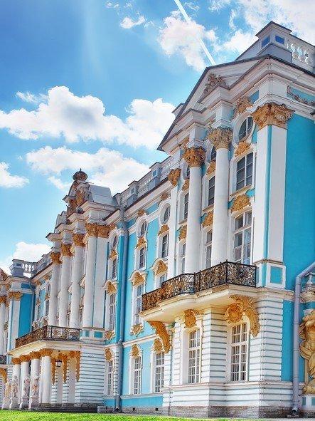 Katharinenpalast Petersburg Russland