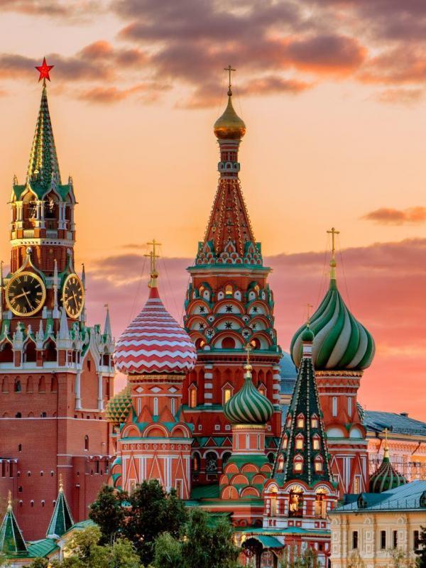 Basiliuskathedrale in Moskau, Panorama
