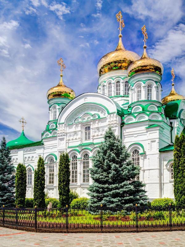 Raifa-Kloster in Kasan, Russland-Reisen