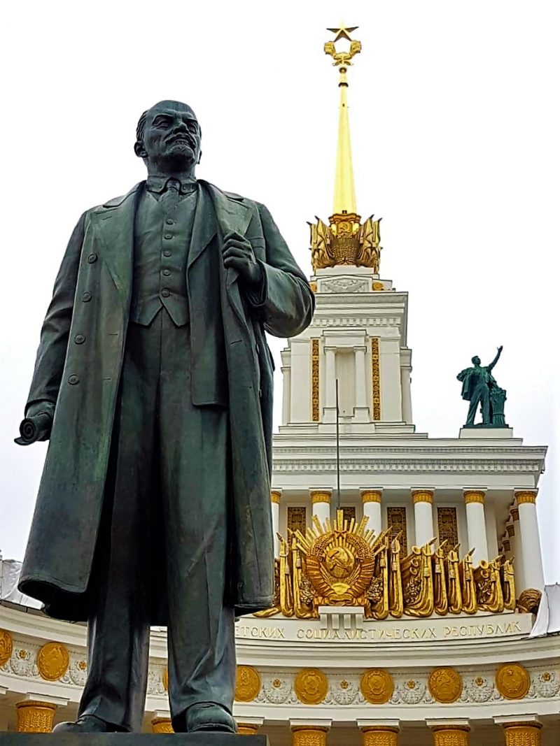 Vdnkh Moskau, Moskaureise