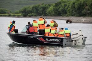 Kamtschatka Kurilensee - Bootsfahrt