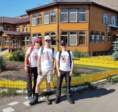Hotel Camp Antarius - AL.EX Team, Kamtschatka 2020