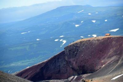 Kamtschatka Opasny Schlucht - Mutnowskij Vulkan
