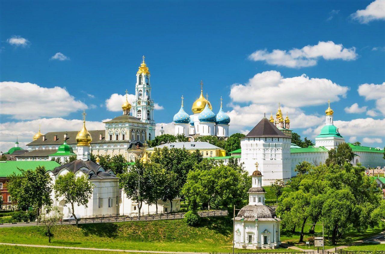 Russland-Reisen: Sergijew-Possad
