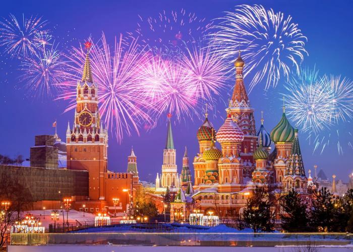 Silvesterurlaub in Moskau