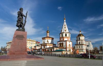 Irkutsk, Sibirien Baikalsee