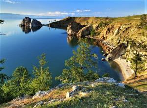 Kap Burhan - Insel Olchon am Baikalsee