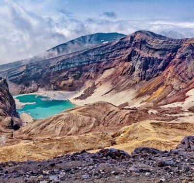 Vulkan Gorelij, Kamtschtka