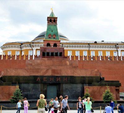 Lenin Mausoleum Roter Platz Moskau