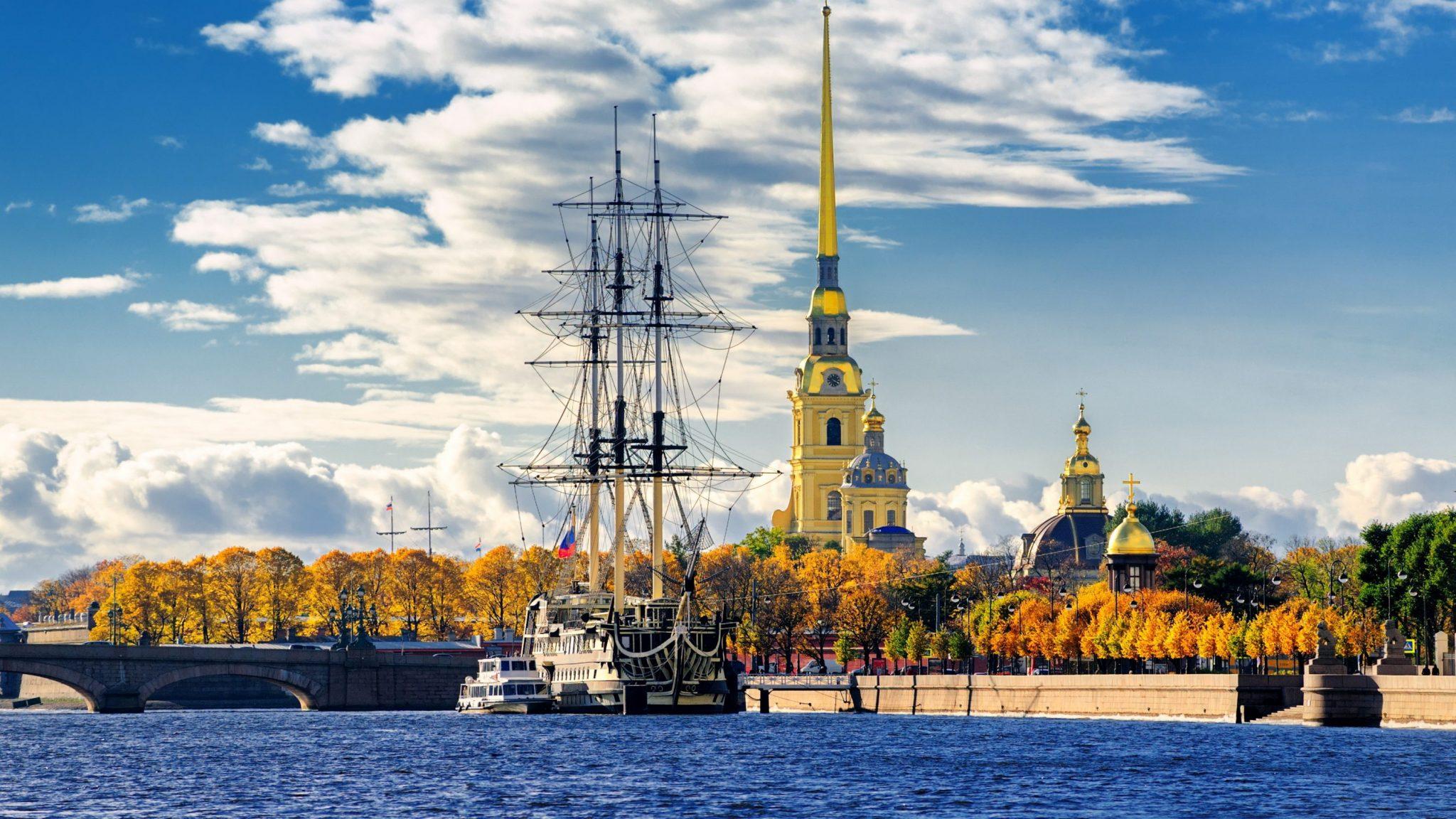 Peter-Paul-Festung, St. Petersburg, Russland-Reisen, Comfort Plus Reise