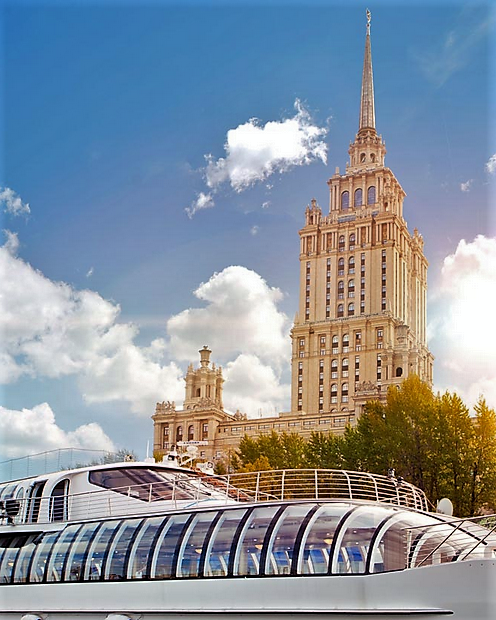 Fassade - Radisson Collection Hotel, Moskau