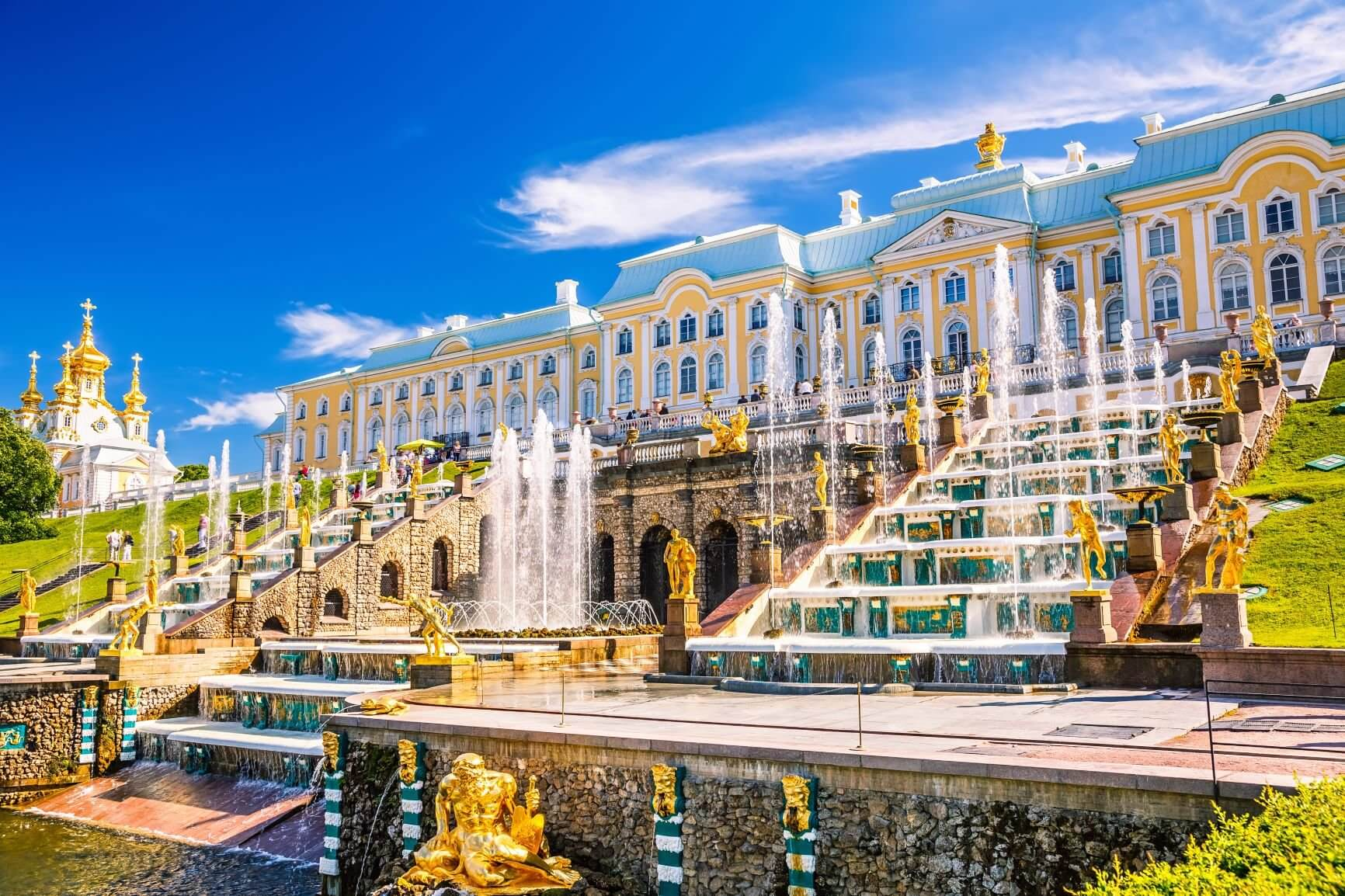 Peterhof in St. Petersburg