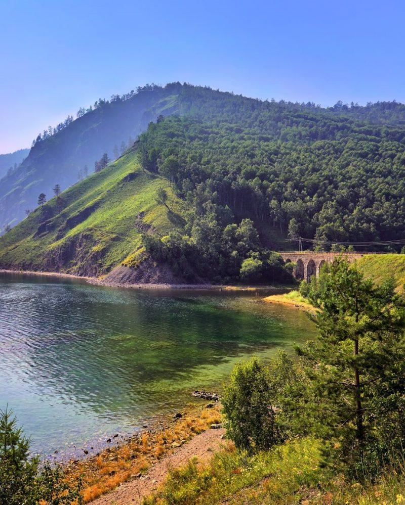 Baikalsee Sibirien Russland