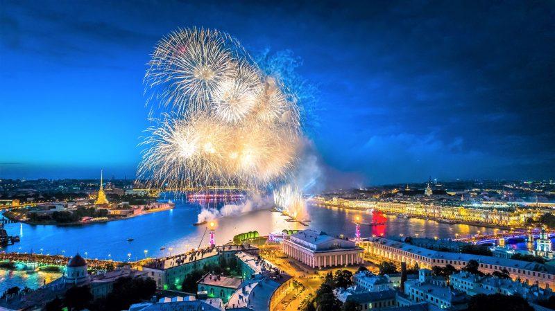 Weiße Nächte in St. Petersburg