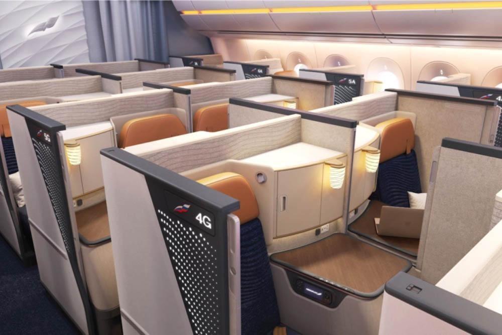 Aeroflot A350 Business Class