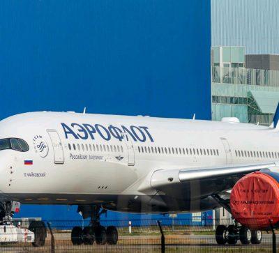 A350 Aeroflot Russland Reise