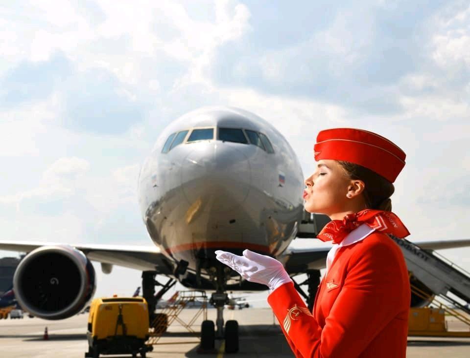 Aeroflot Russland Urlaub