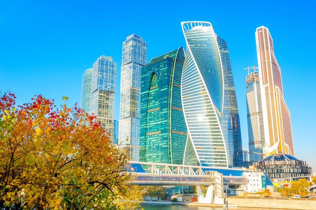 Städtereise nach Moskau: das neue Moskau Moskau City