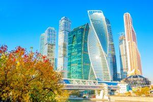 Das neue Moskau Moskau City