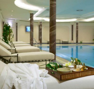 Hotel Baltschug Kempinski Pool