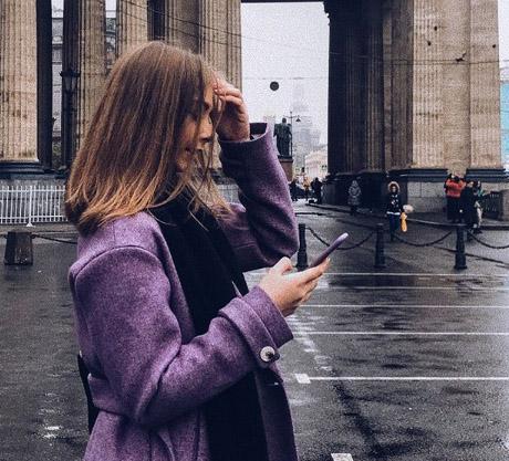 Russische Bloggerin Valeria St. Petersburg